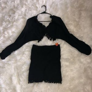 Black trendy set